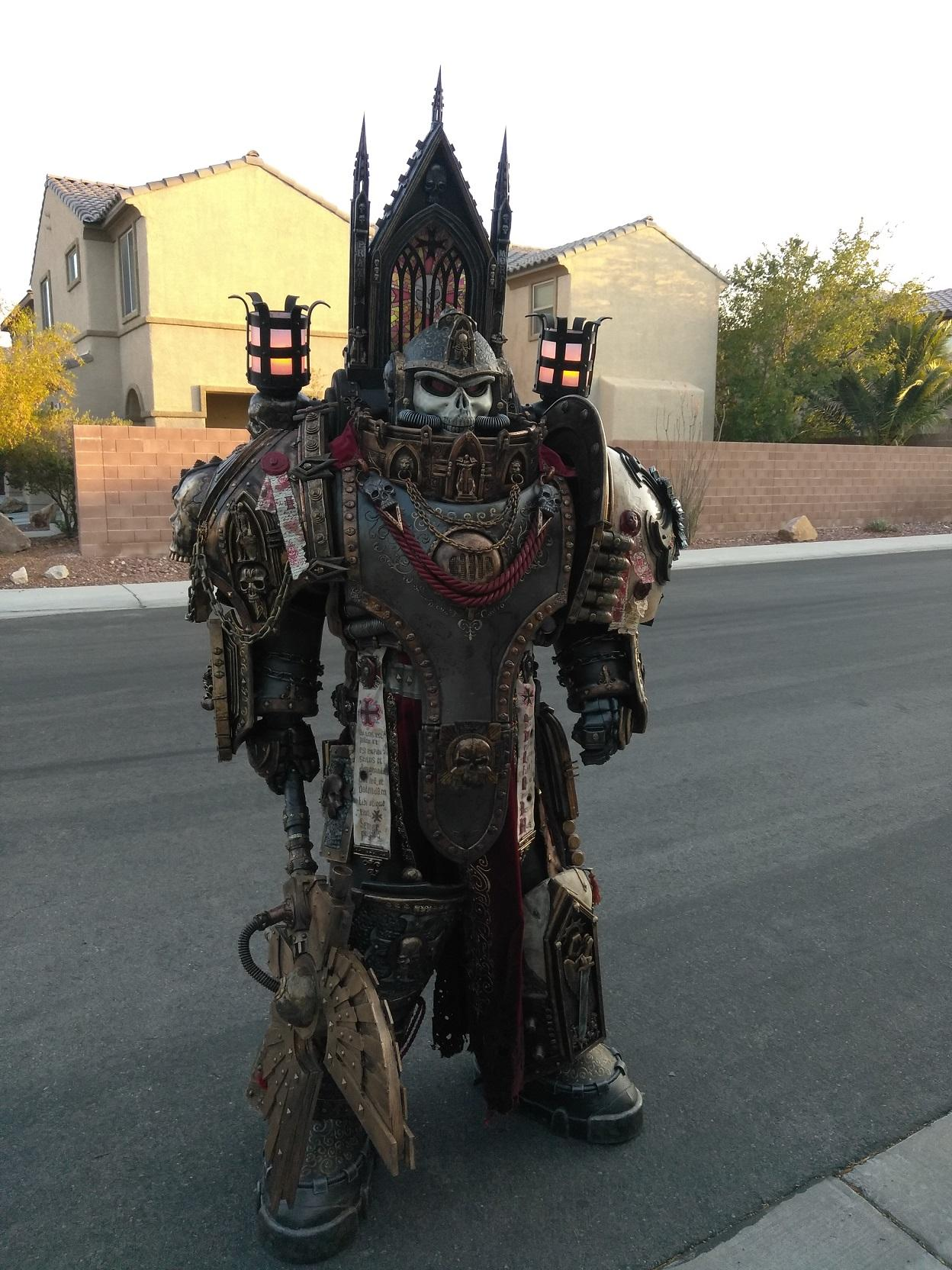 Warhammer 40K cosplay - Black Templar