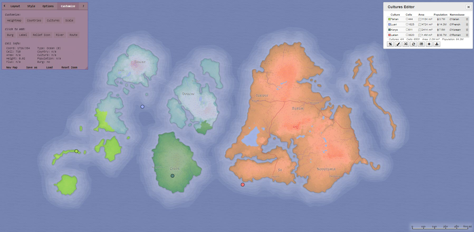 Free Dd World Map Maker.Map Maker Generating A Fantasy World Atlas
