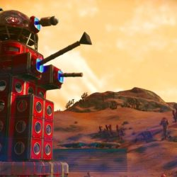 Dalek built in No Man's Sky