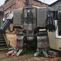 Warhammer 40K Dreadnaught cosplay