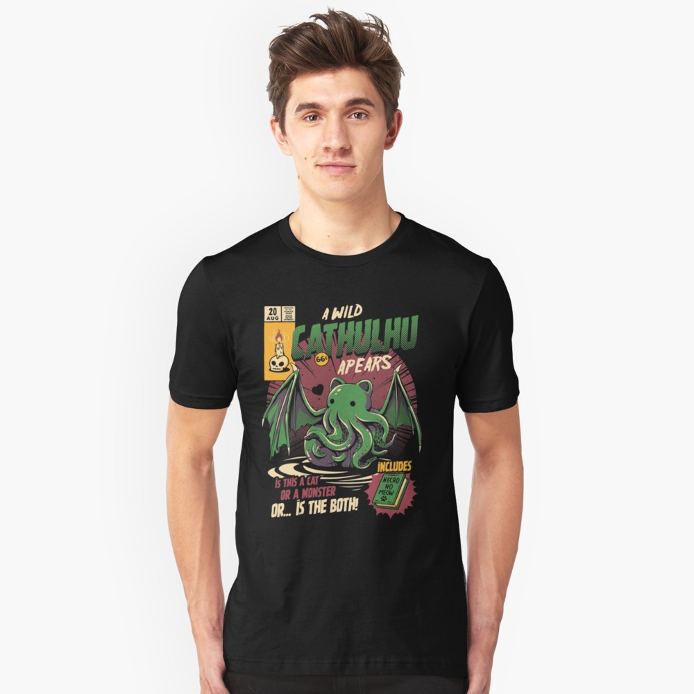 Lovecraft t-shirt: Cathulhu