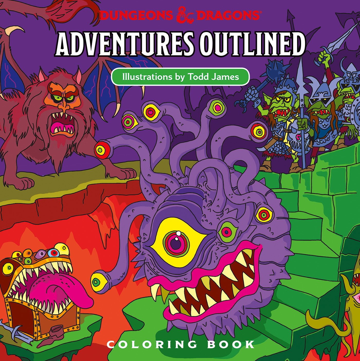 D&D colouring book