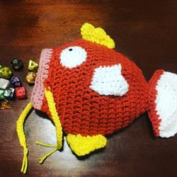 Make a splash with your very own Magikarp dice bag