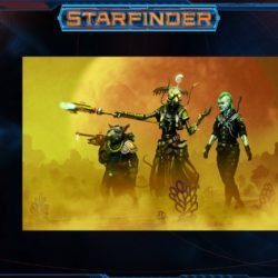 Paizo previews art from the Starfinder Beginner Box