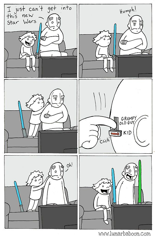 Star Wars comic - adjust