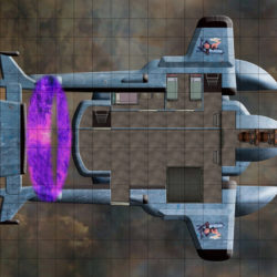 9 flying ship battle maps for your Eberron campaign