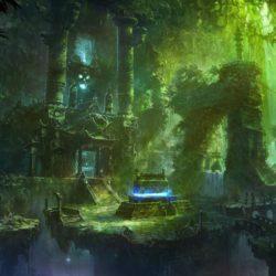 RPG Inspiration: 18 beautiful fantasy settings from Shuxing Li