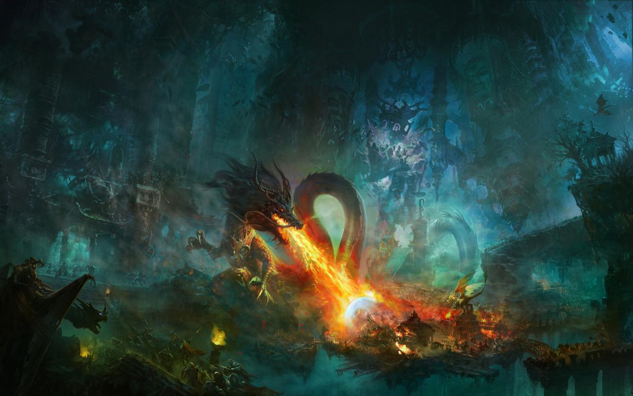 Shuxing Li dragon fantasy