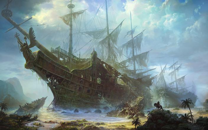 Shuxing Li wrecked ship