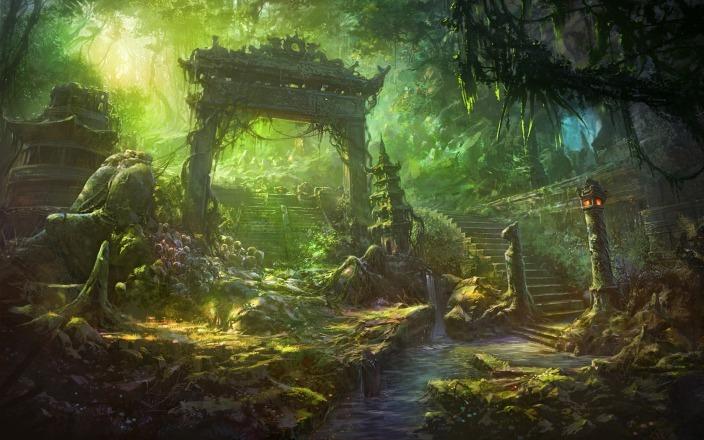Shuxing Li mystic ruins