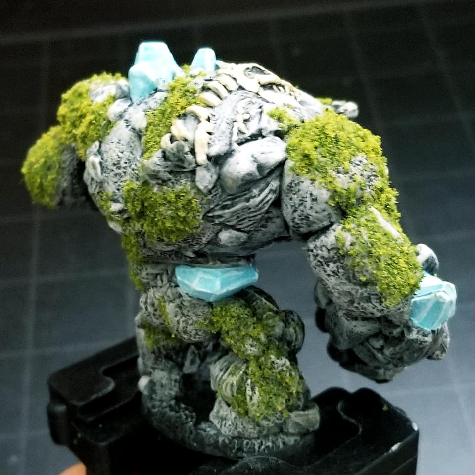 Earth elemental model for Dungeons and Dragons (unfinished)
