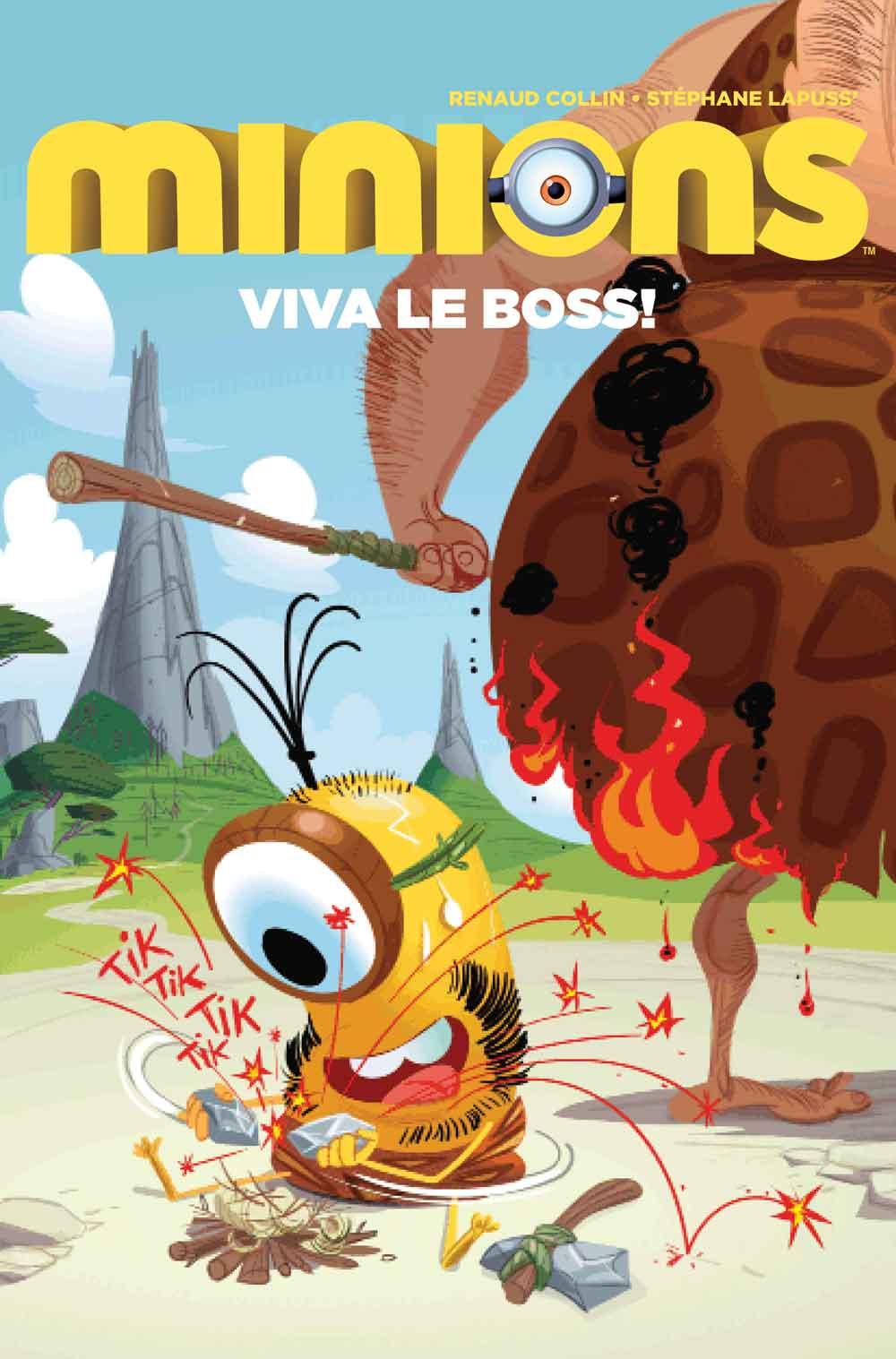Minions Viva Le Boss