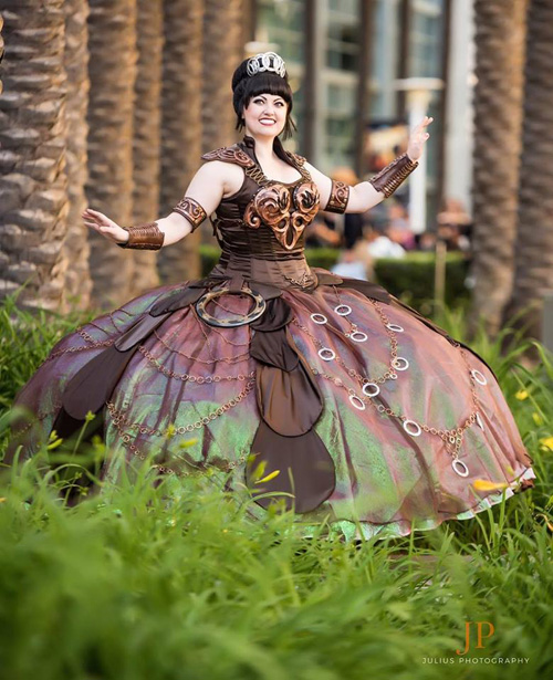 Bernadette Bentley as Xena Warrior Disney Princess