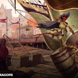 Enjoy a sneak peek into Waterdeep: Dragon Heist and order at Roll20
