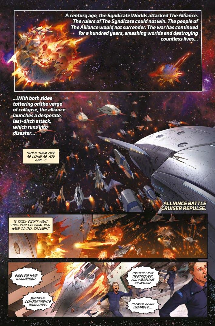 Lost Fleet Corsair