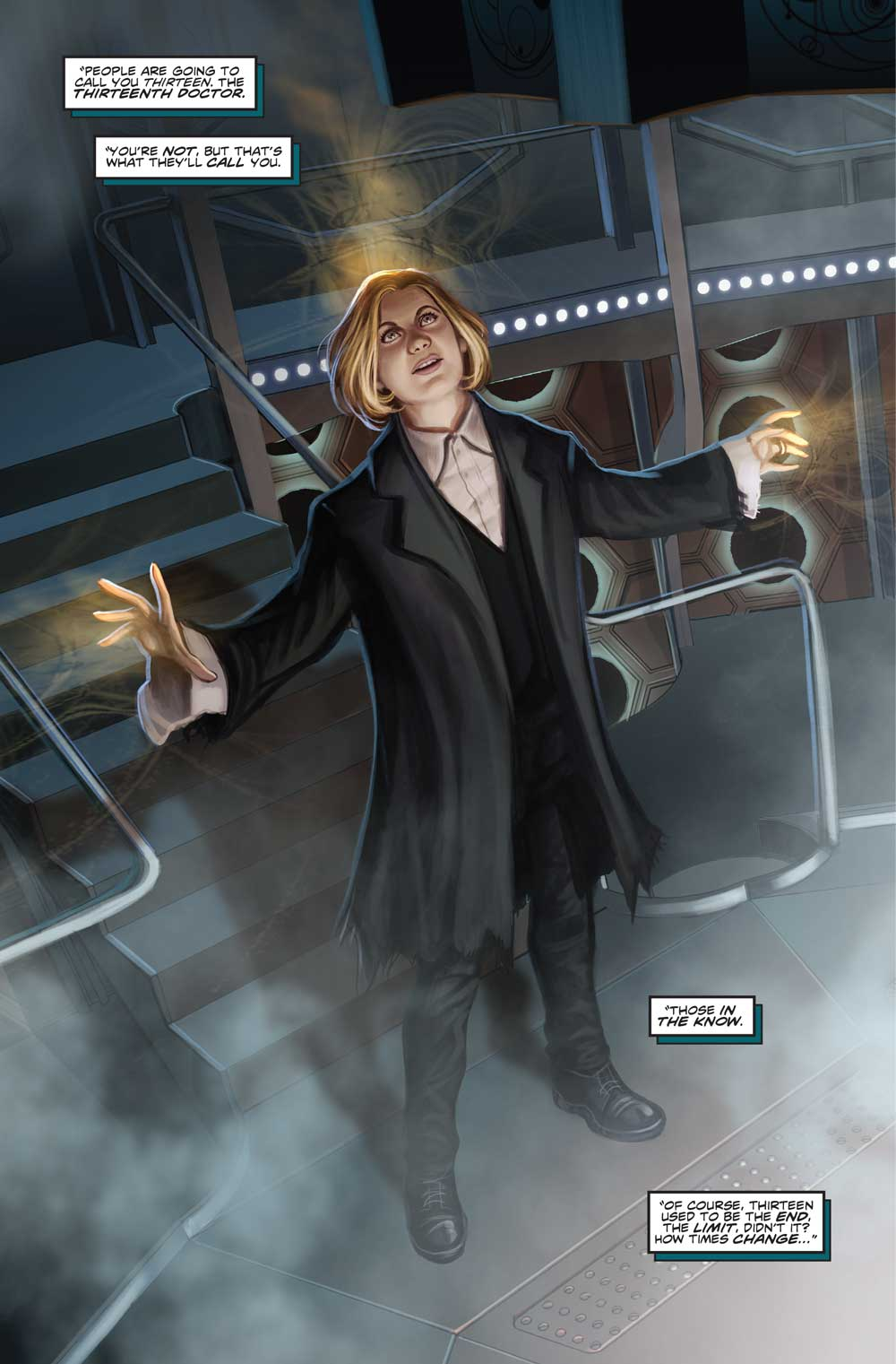 Image result for 13th doctor who #0 Ninth Doctor panels