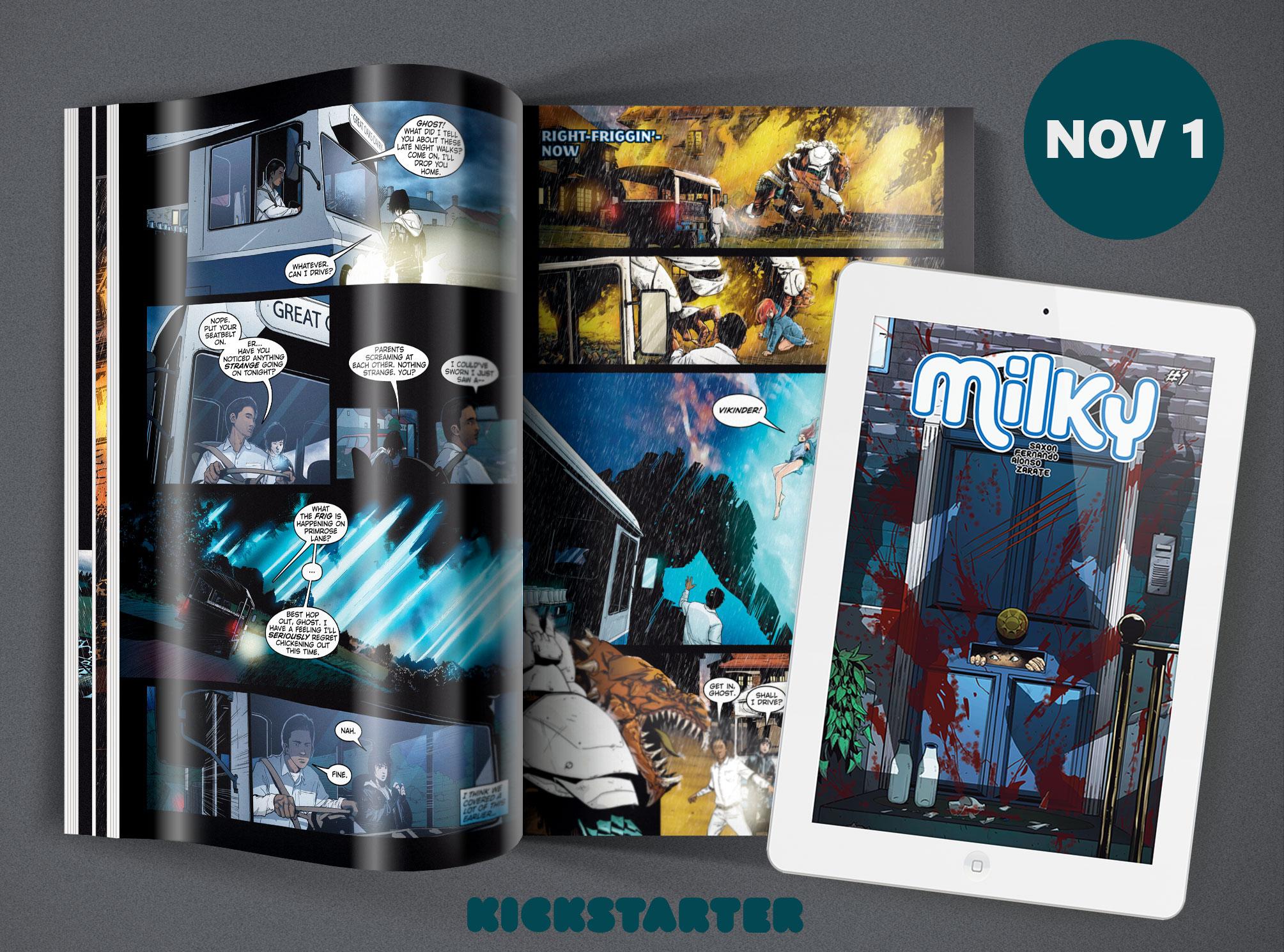 Milky Kickstarter