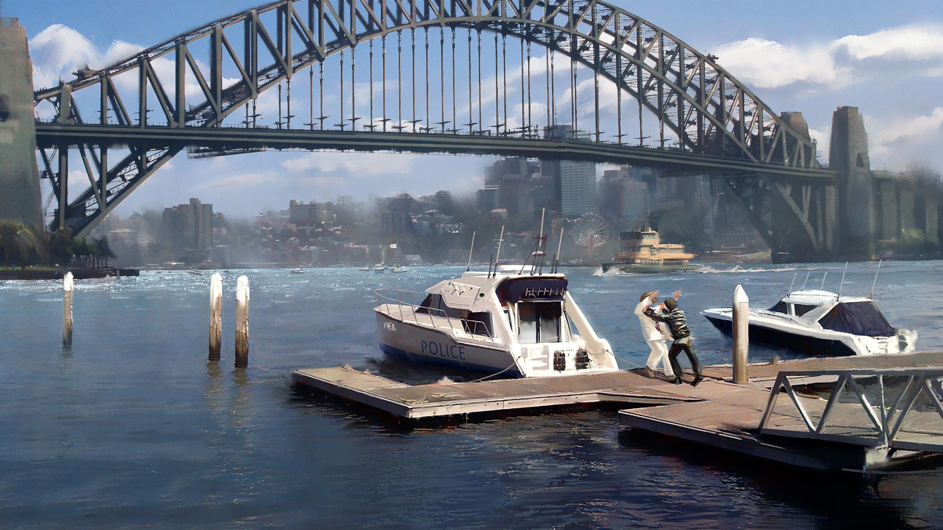 Sydney: Duel concept art