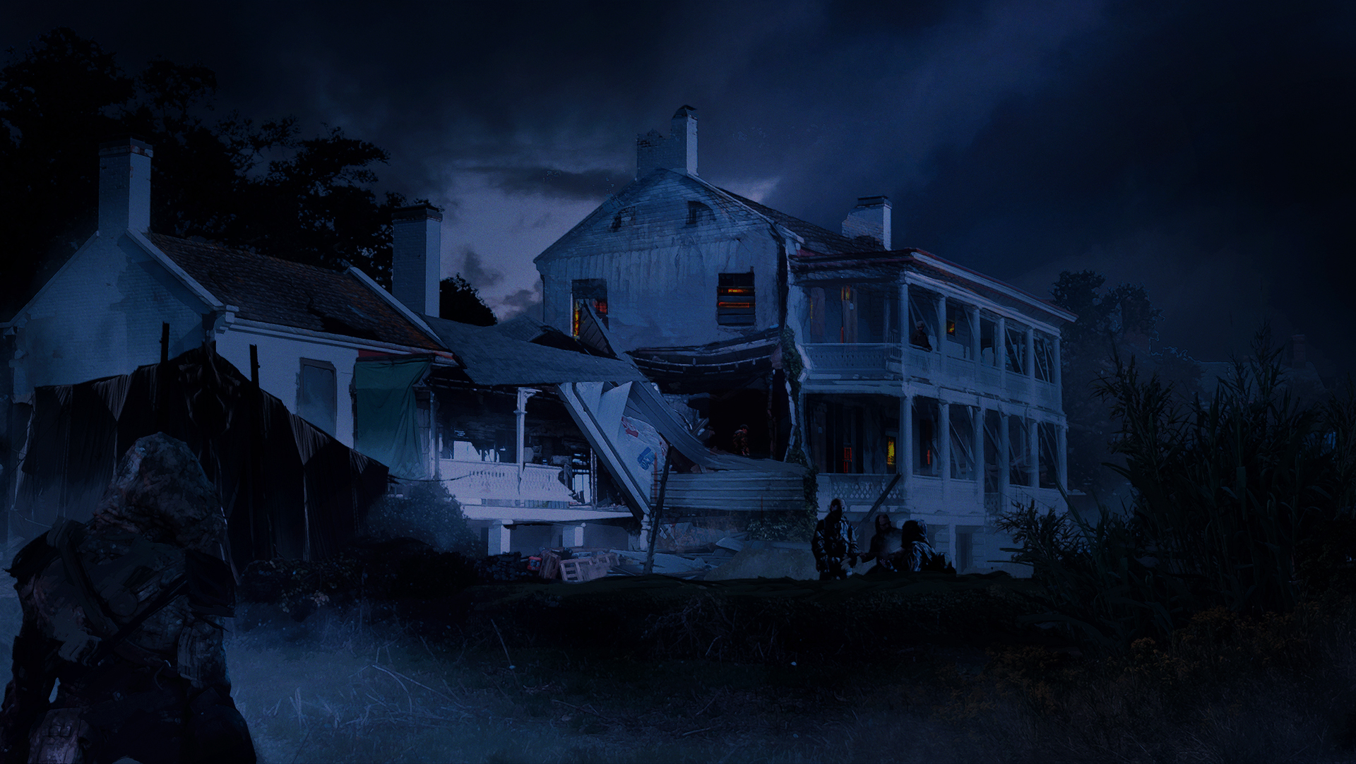 Fort Monroe - When Night Comes concept art