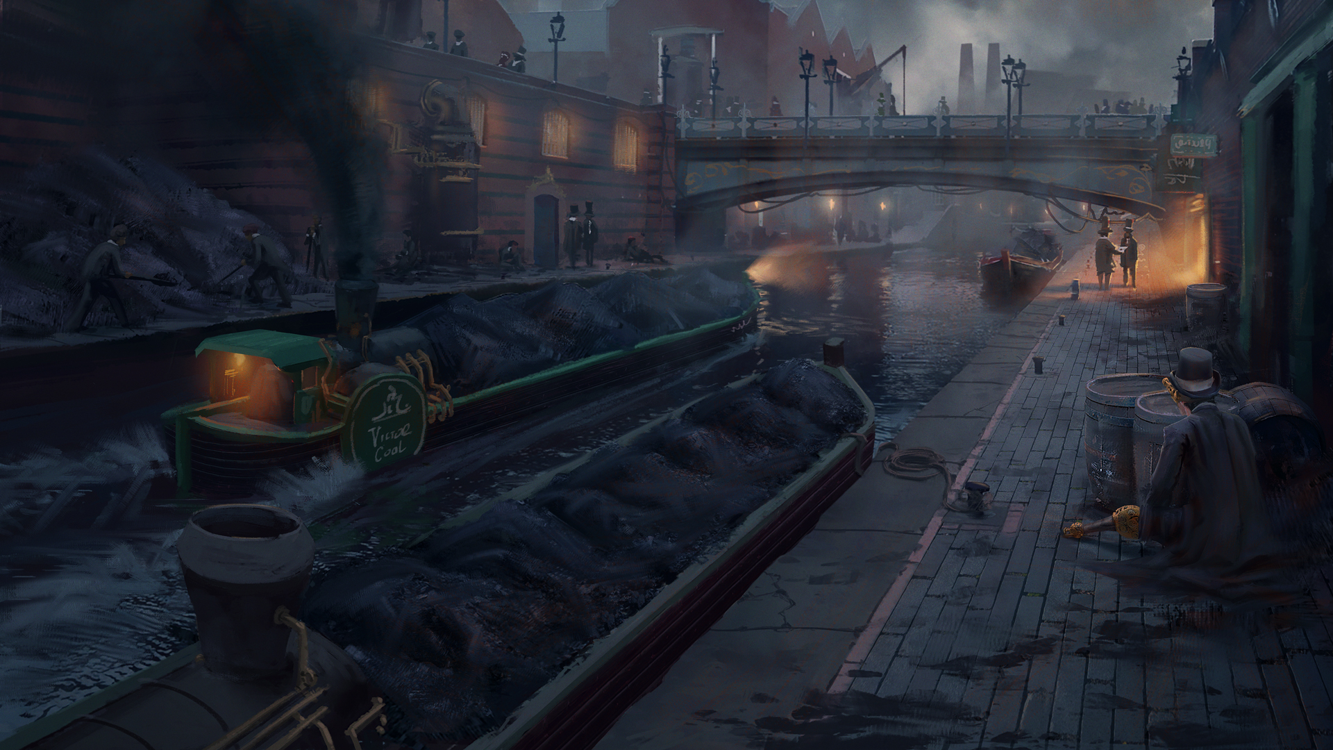 Birmingham - The Steampunk Detective concept art