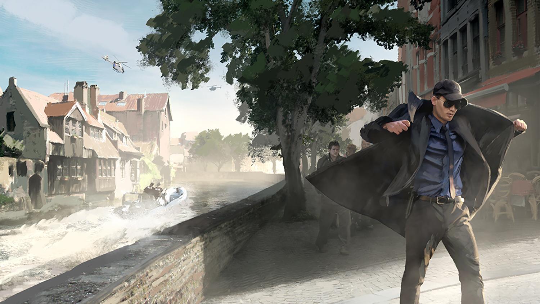Bruges - The Last Hit concept art