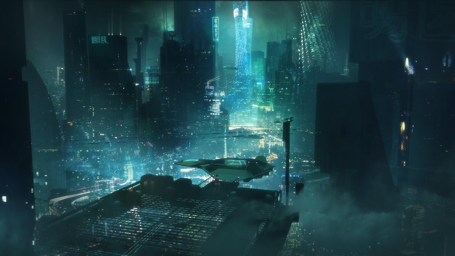 Guangzhou - Hu Is Rising concept art
