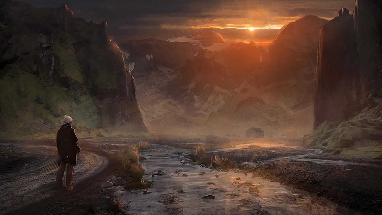 Reykjavik - Midnight Sun concept art