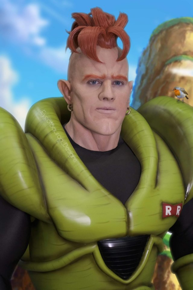 Dragon Ball Android 16 cosplay