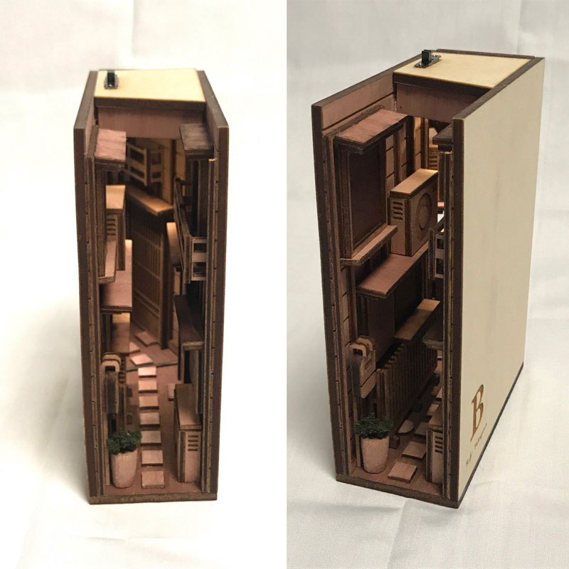 Monde's shelf dioramas