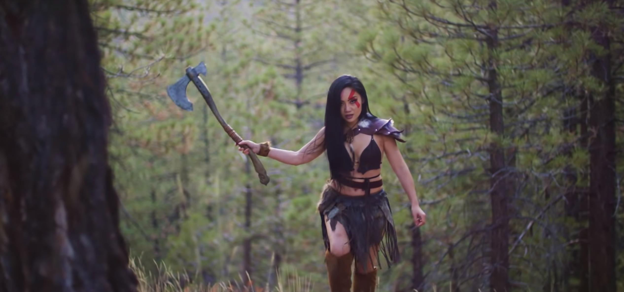 Tina Guo - God of War