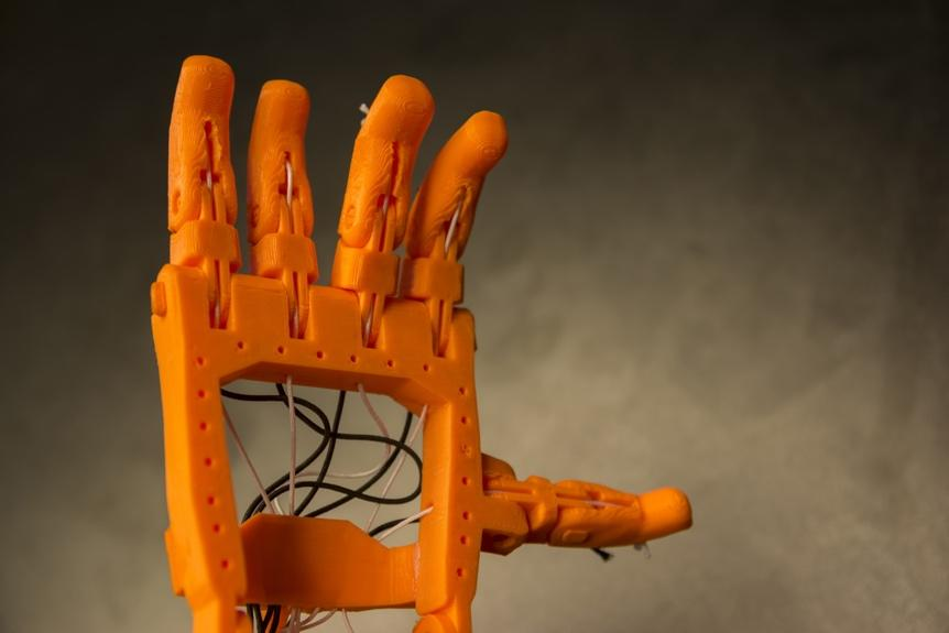3d-printed hand