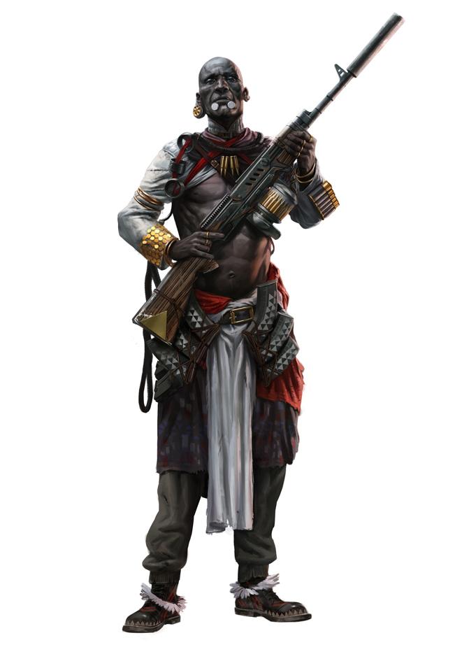 Africa culture Degenesis RPG