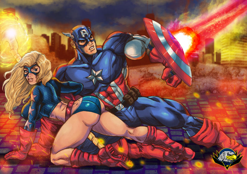 Captain America and Stargirl