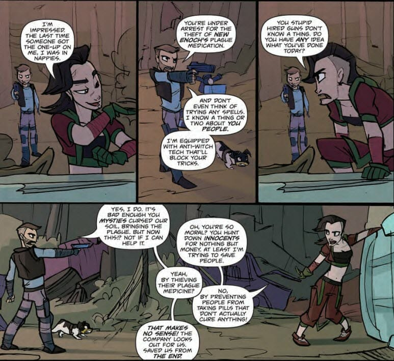 Plagued: The Miranda Chronicles