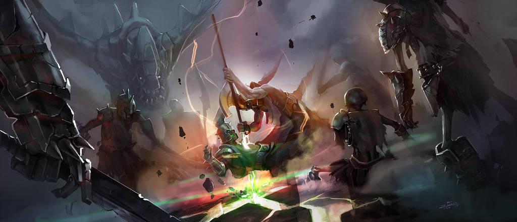 RPG fight