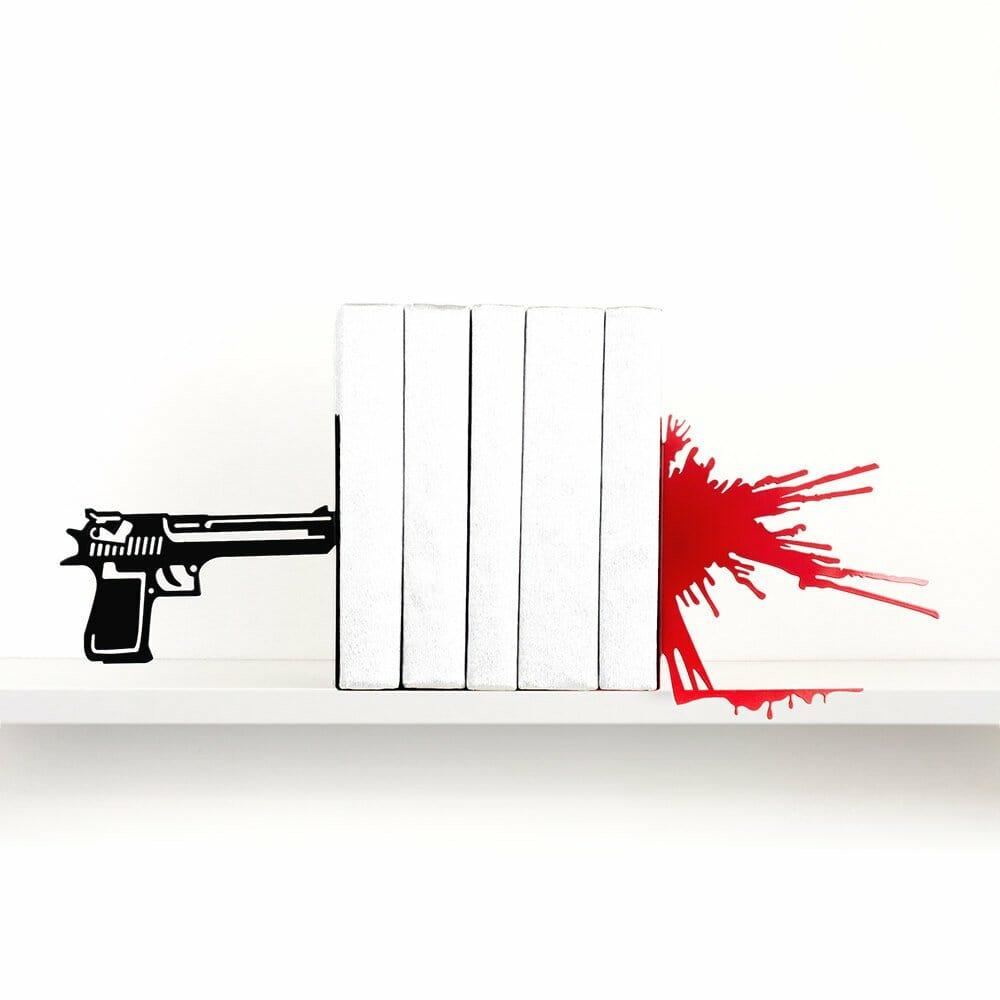 Gunshot and splatter bookends