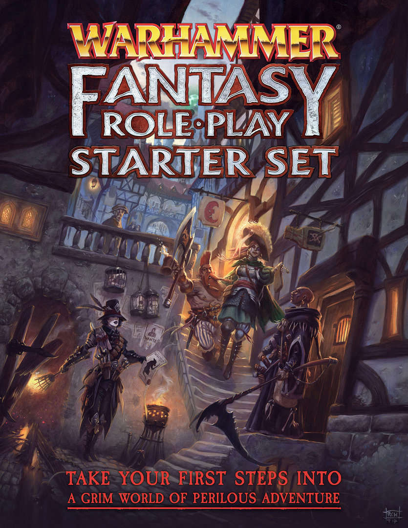Warhammer Fantasy RP starter set