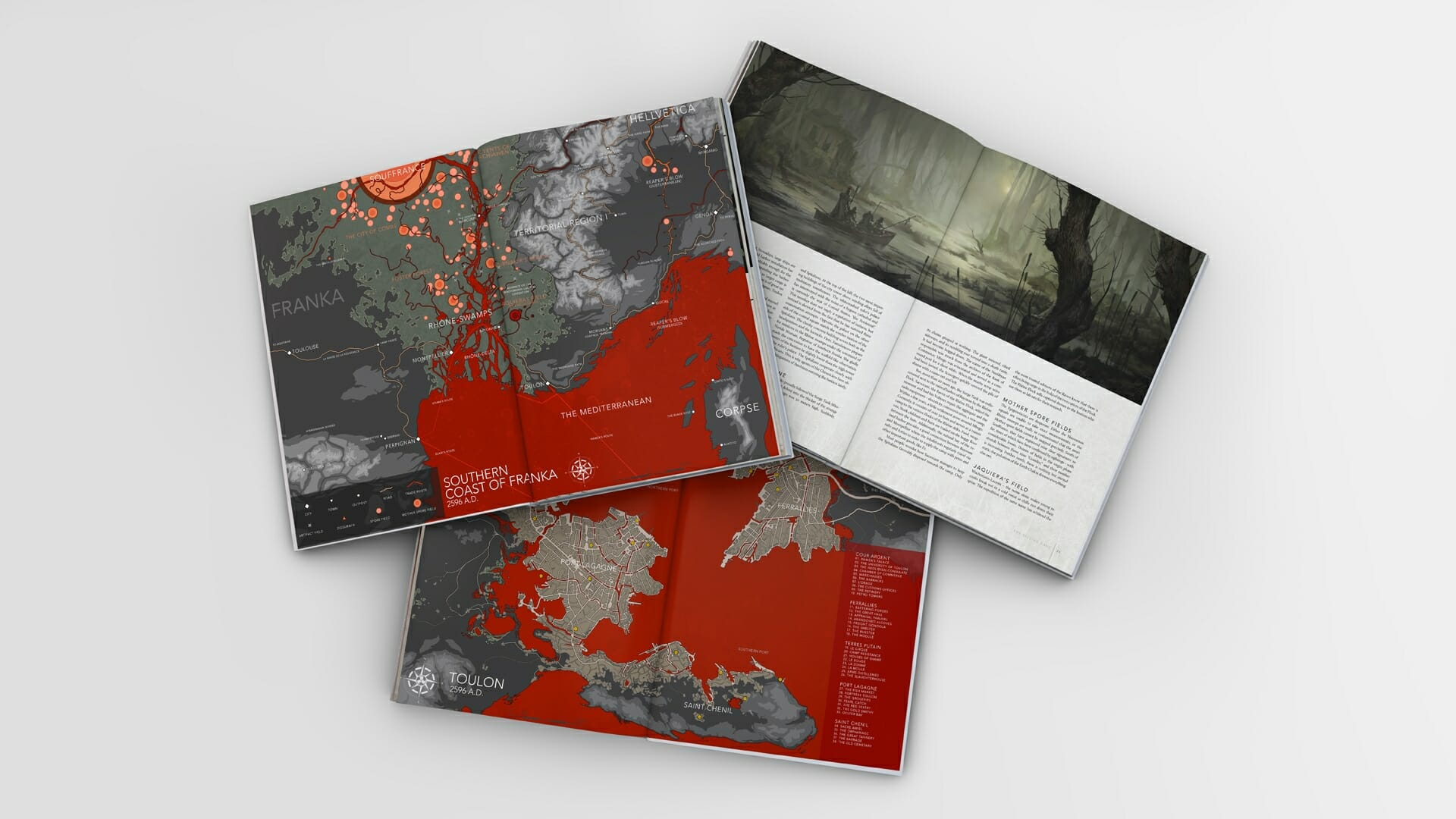 A look inside: Degenesis - The Killing Game
