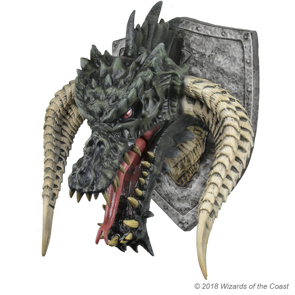 Official 450 Dungeons Amp Dragons Dragon Head For Your Wall