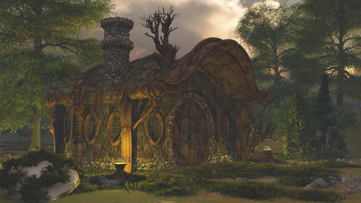 Fairytail hut