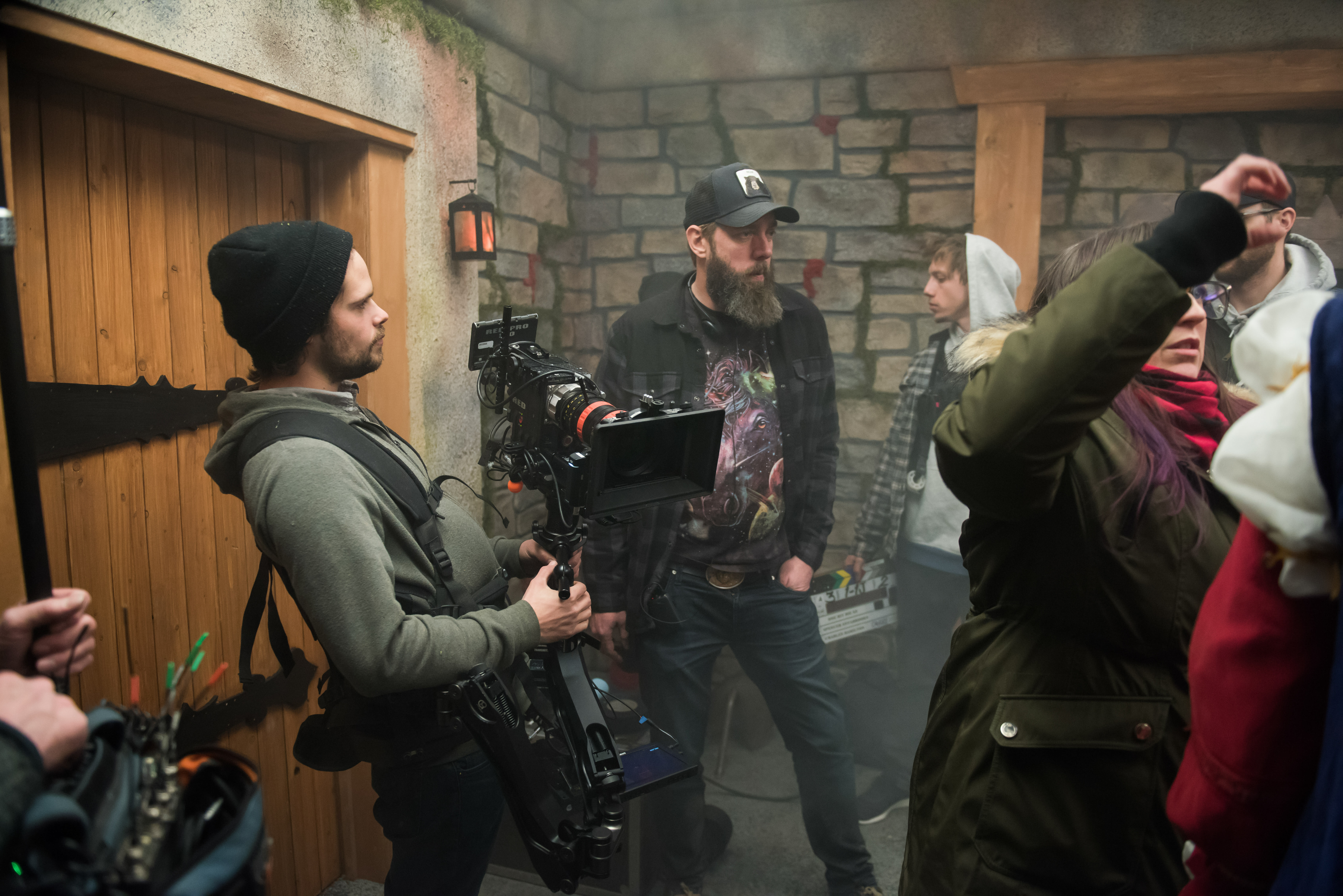 One Hit Dice filming
