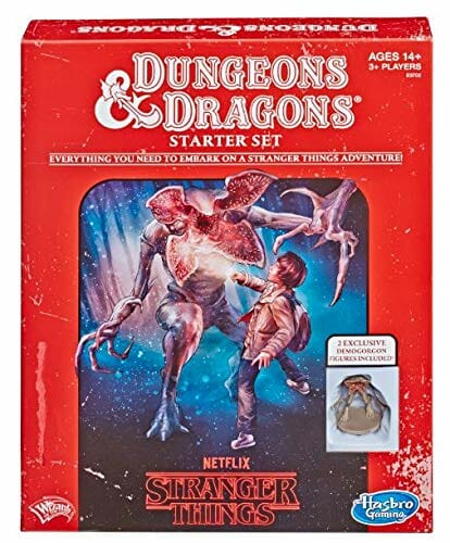DnD Stranger Things red box starter set