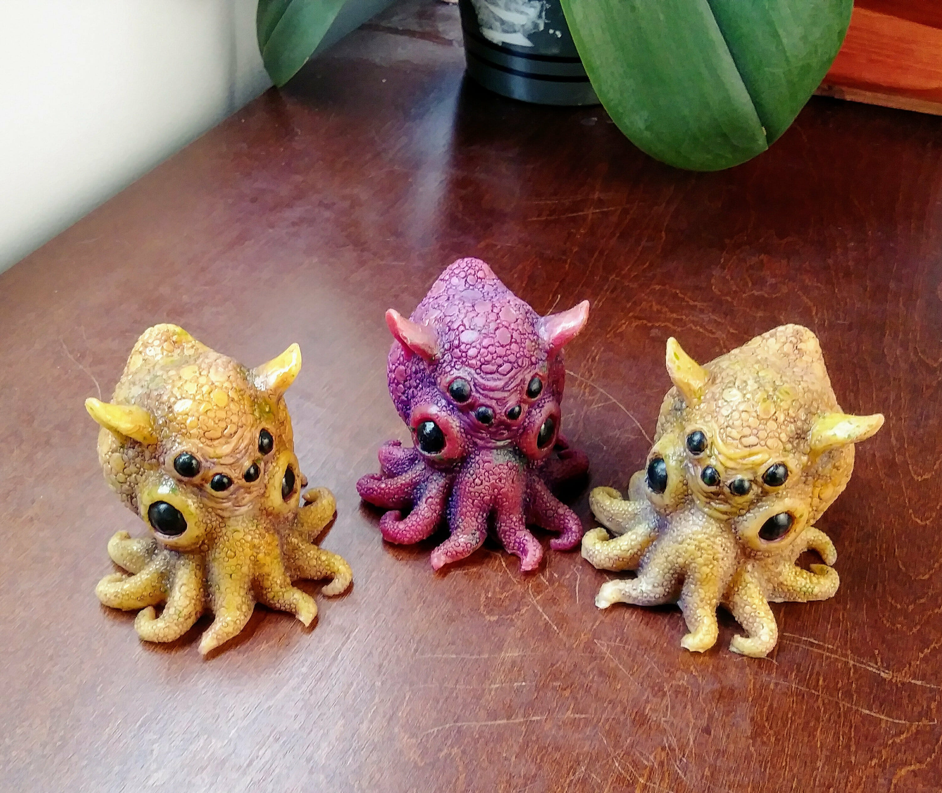Cutest Cthulhu dumbo octopods