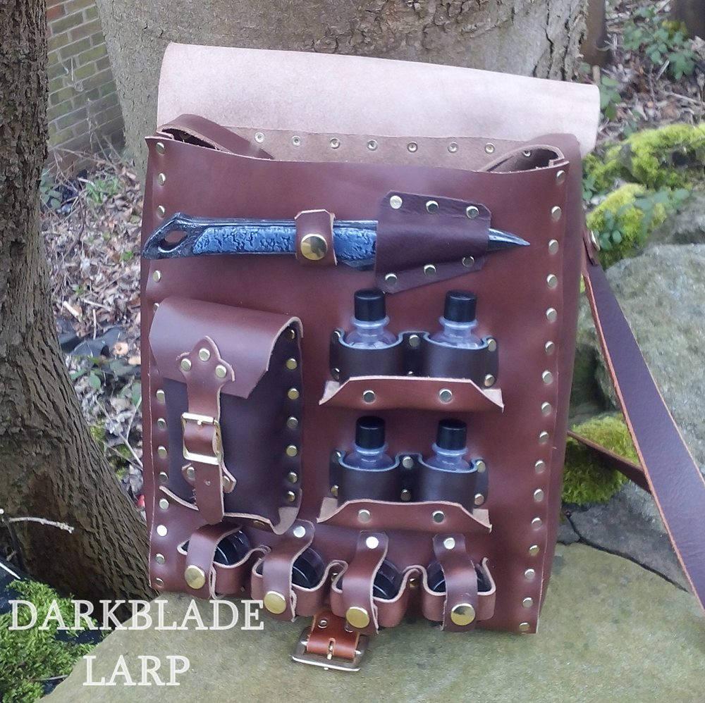 larp costume - healer bag