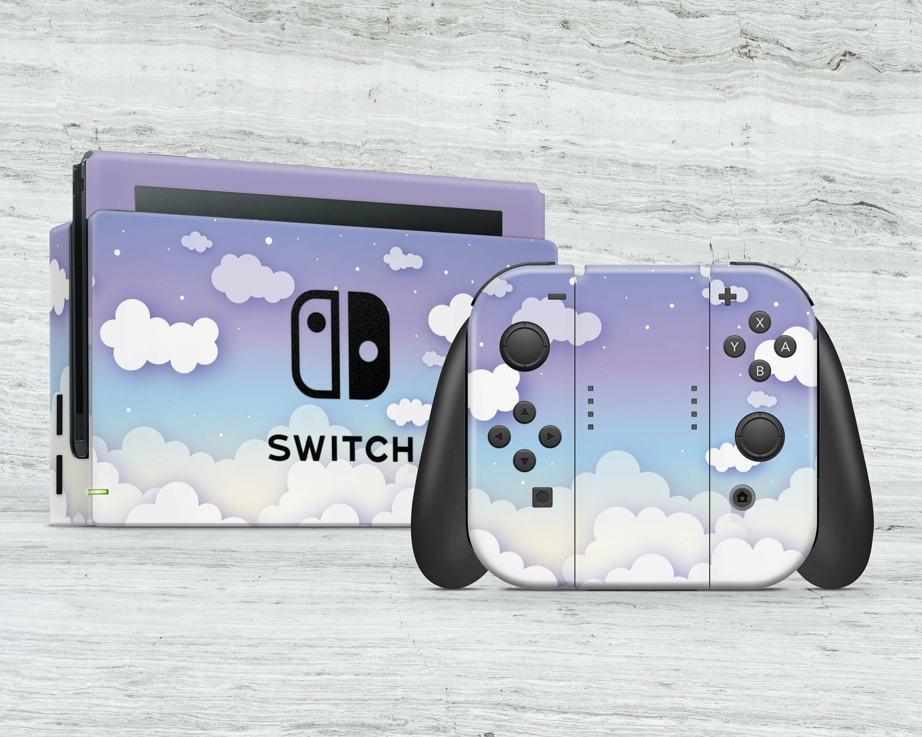 Twilight clouds Switch skin