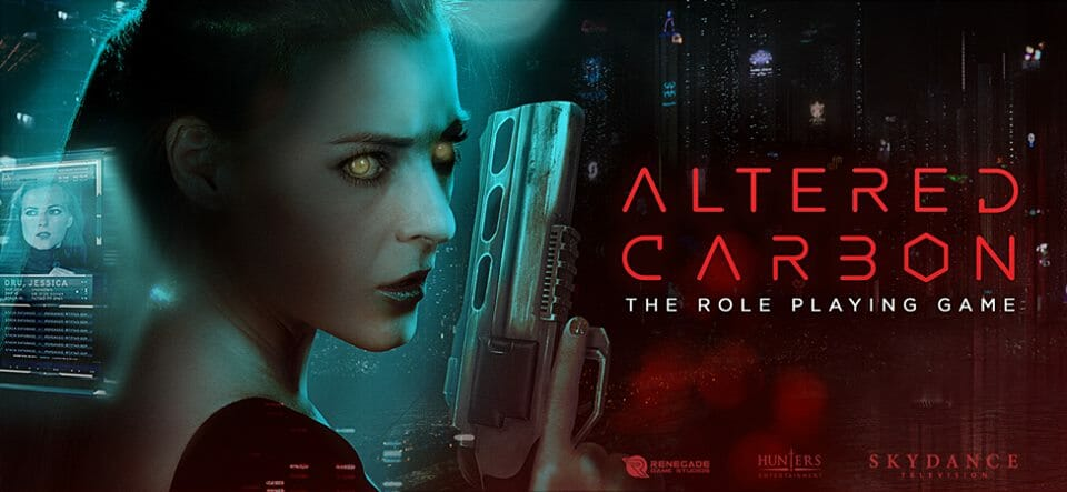 Altered Carbon tabletop RPG due out in 2020