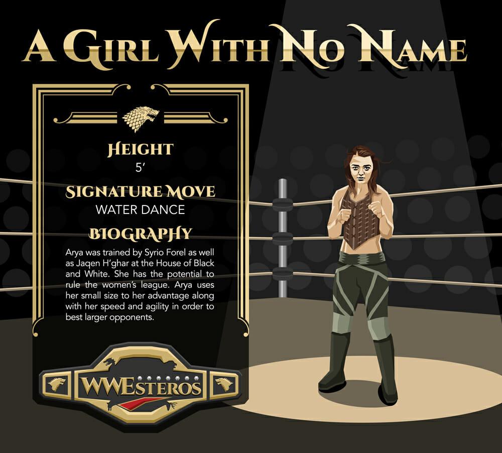 Arya Stark - A Girl With No Name