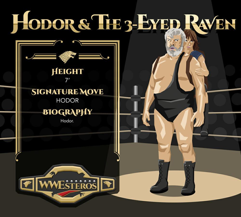 Hodor & The 3-Eyed Raven