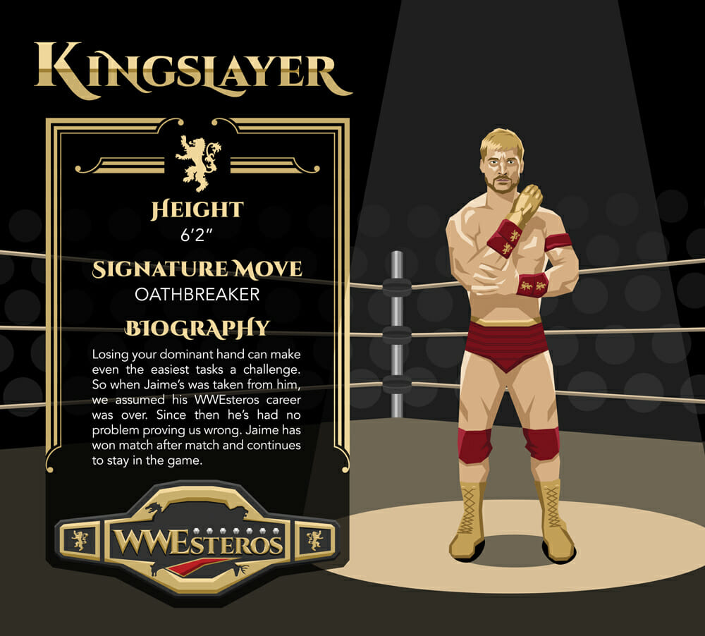 Jaime Lannister - Kingslayer