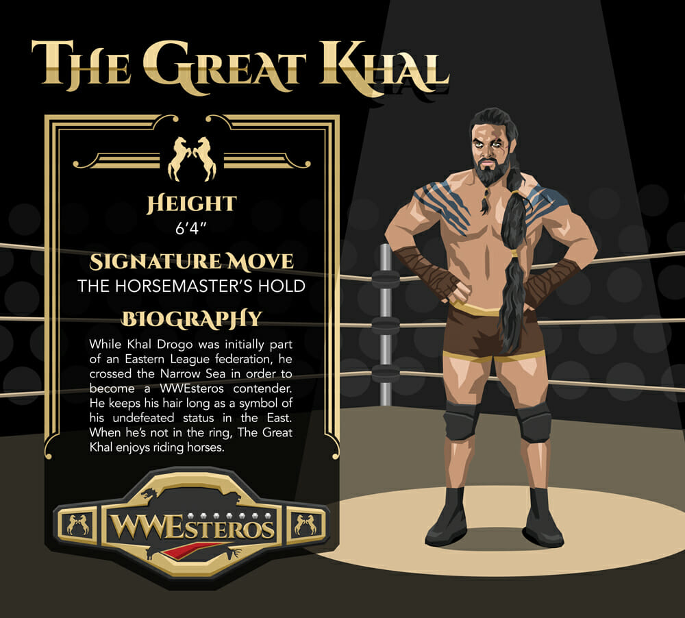 Khal Drogo - The Great Khal